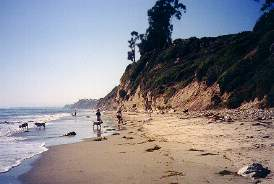 10d0f41f0 Arroyo Burro County Beach  This is a beautiful beach