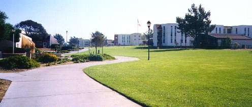 Cal State Monterey campus center, dorms