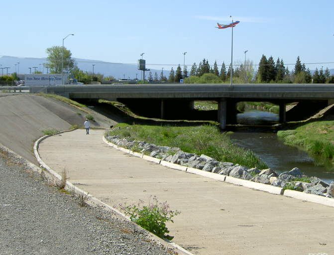 Guadalupe River Trail Hwy To Alviso - San jose bike trails map