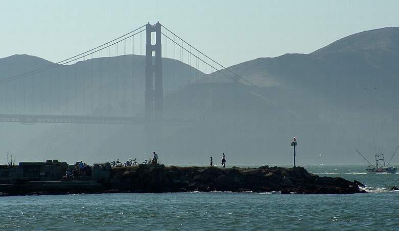 Golden Gate Bridge and the Wave Organ