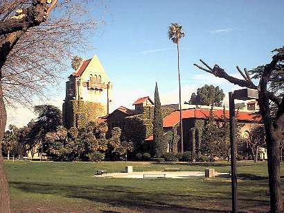 Tower Hall and Morris Dailey Auditorium, SJSU