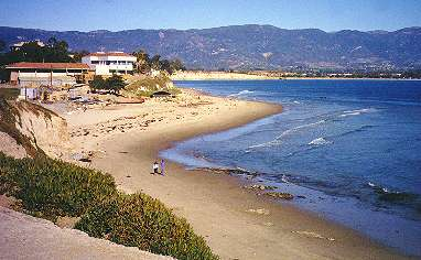 UCSB Marine Science Institute, campus beach, Goleta Beach