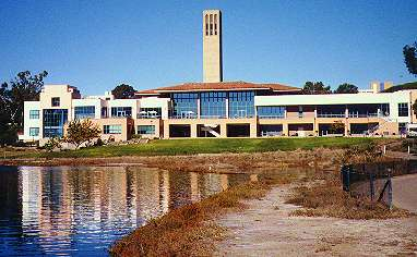University Center and Lagoon, UCSB