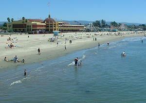 Santa Cruz Main Beach And Boardwalk